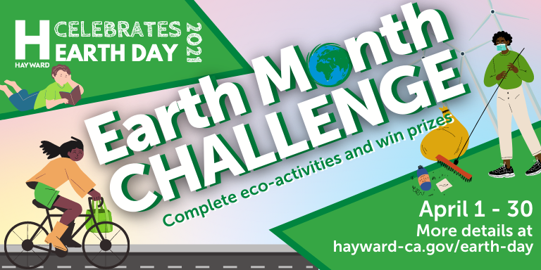 Earth Month Challenge - complete eco-activities and win prizes