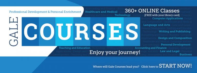 Image showing Gale courses logo