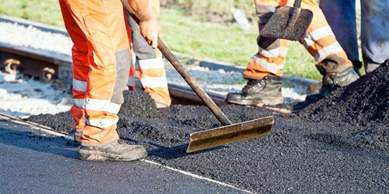 Public Works street project