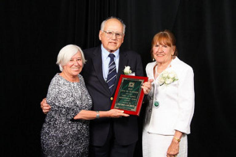 Mayor Halliday & 2015 John Pappas Award Winners Jeanne Grocker & Steve Sapontzi