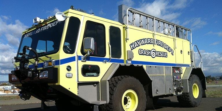 Aircraft Rescue and Fire Fighting (ARFF) vehicle