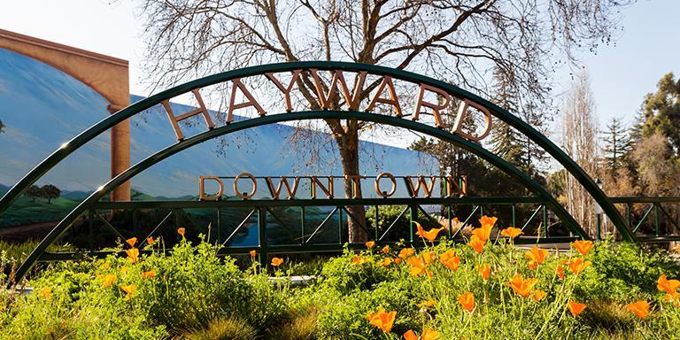 Downtown Hayward Arch