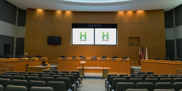 Hayward City Council Chambers
