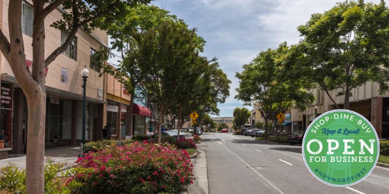 Downtown Hayward, B Street