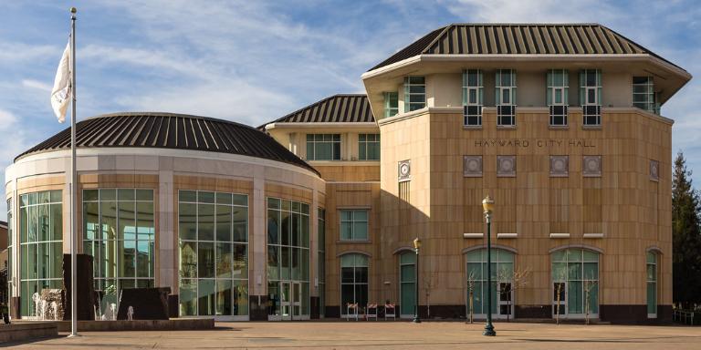 City Hall on a bright sunny day